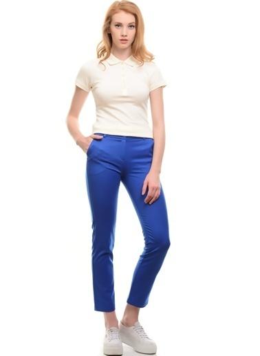 Fresh Company Fresh Company Fermuarlı Cepli Si Kadın Pantolon Saks